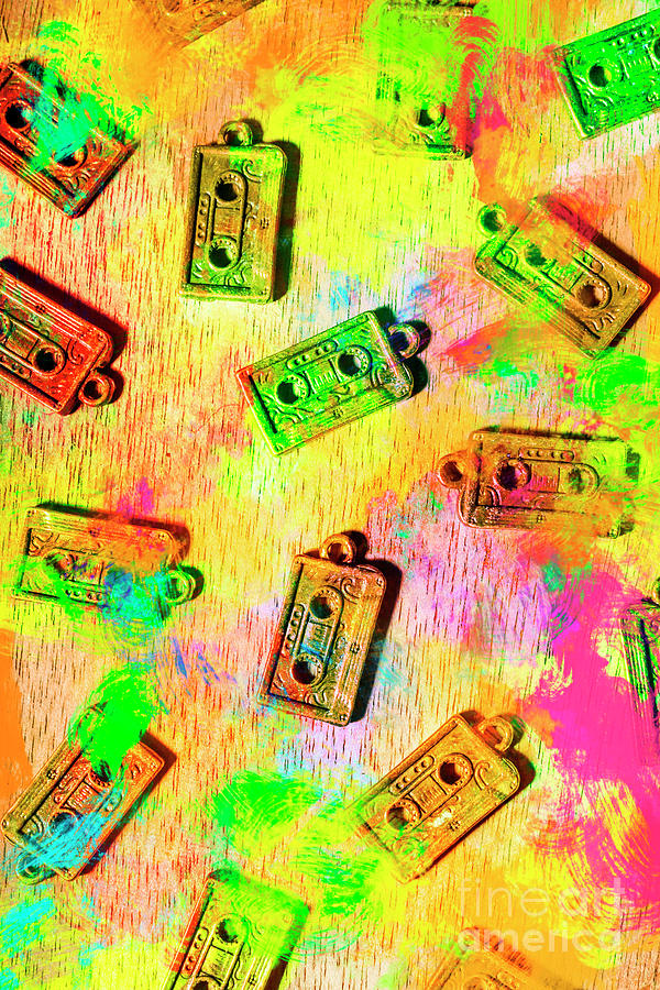 Pop Art Mix Tapes Photograph by Jorgo Photography - Wall Art Gallery