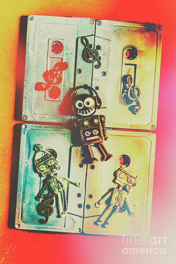 Pop Art Music Robot Photograph by Jorgo Photography - Wall Art Gallery