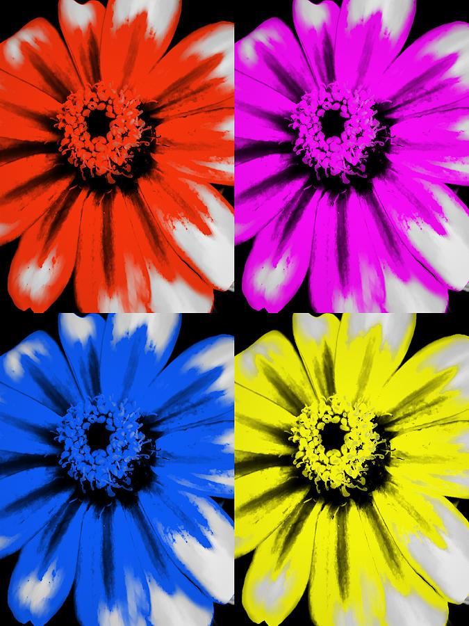 Pop Photograph - Pop Art Petals by Heather Joyce Morrill