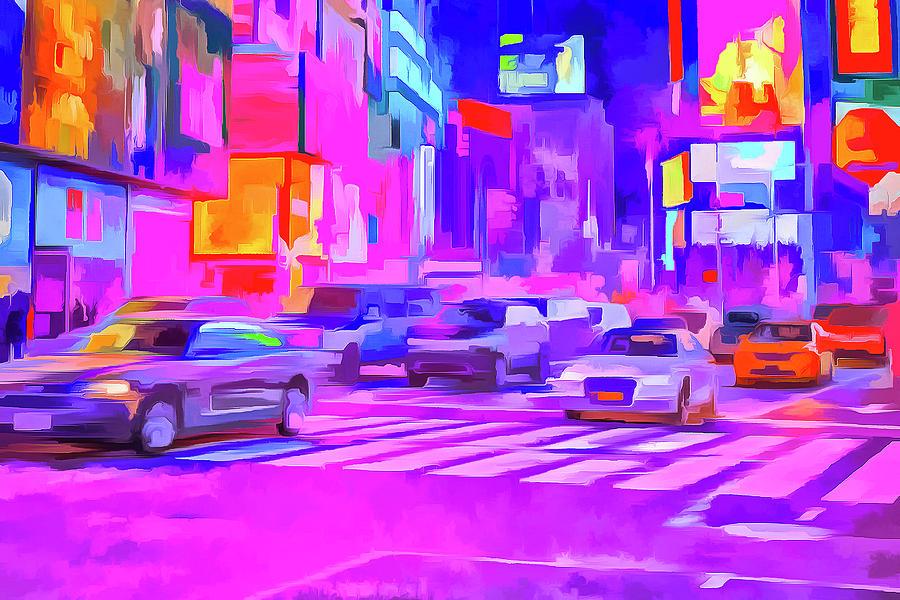 Pop Art Times Square Photograph