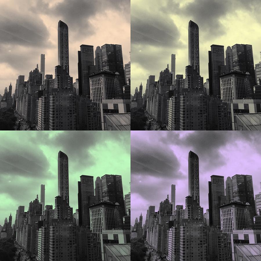 Us Photograph - Pop City by Joseph Mari