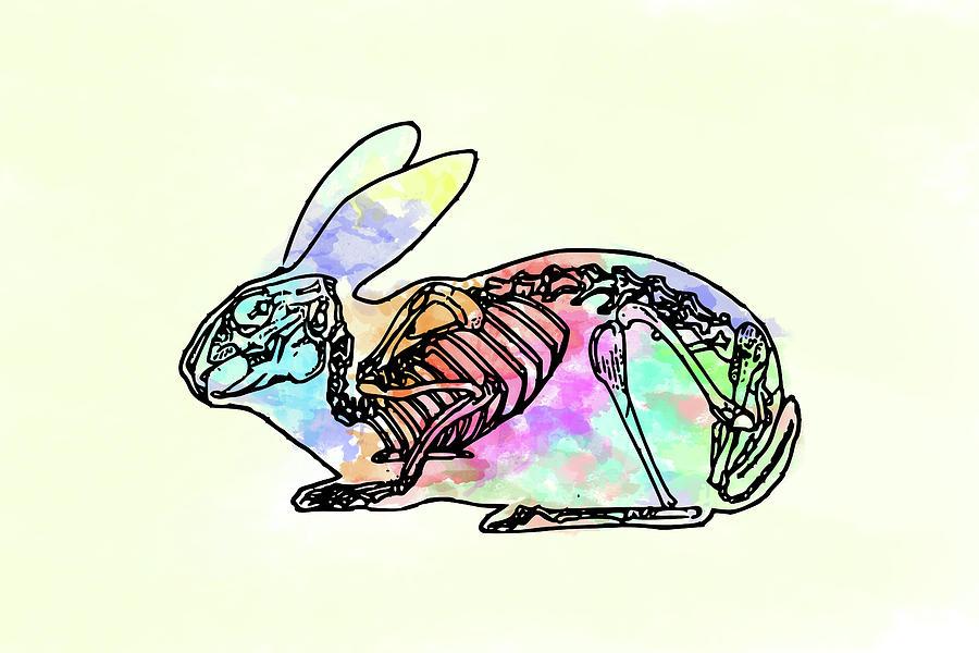 Pop Goes The Bunny Digital Art