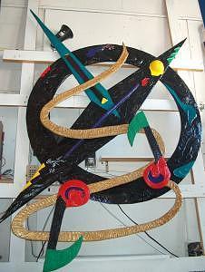 Sculpture Sculpture - Pop Music  by Richard W Beau Lieu
