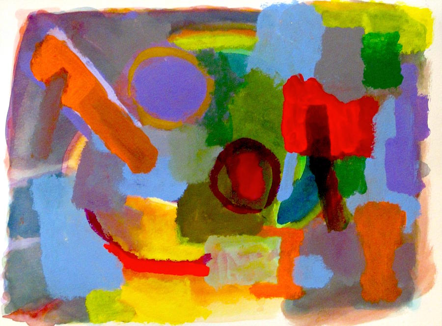 Abstract Painting - Pop Pops Toolbox by Thom Duffy