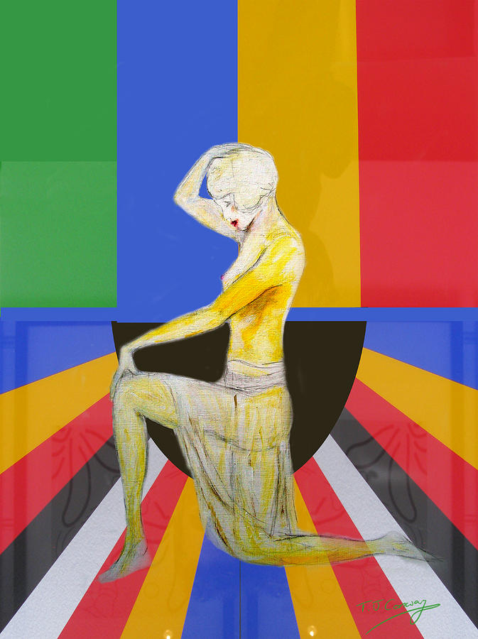 Popart Showgirl 2 by Tom Conway