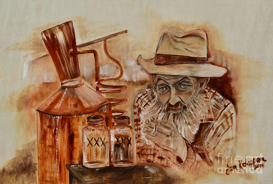 Popcorn Sutton - Waiting on Shine by Jan Dappen