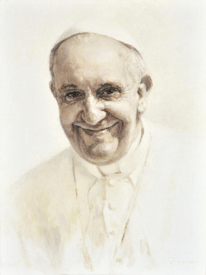 Pope Francis, Joyful Father by Smith Catholic Art
