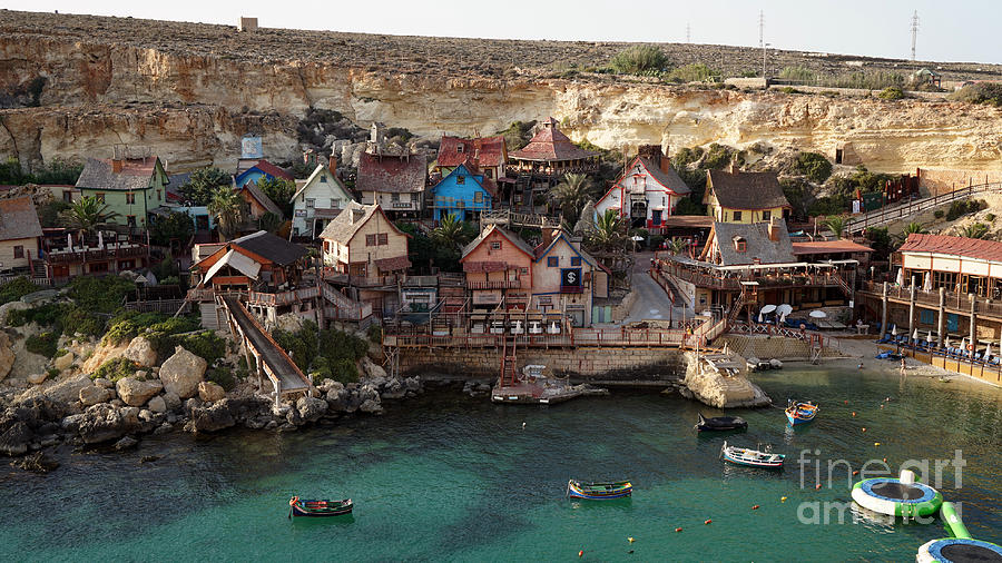 Popeye Village Malta Photograph