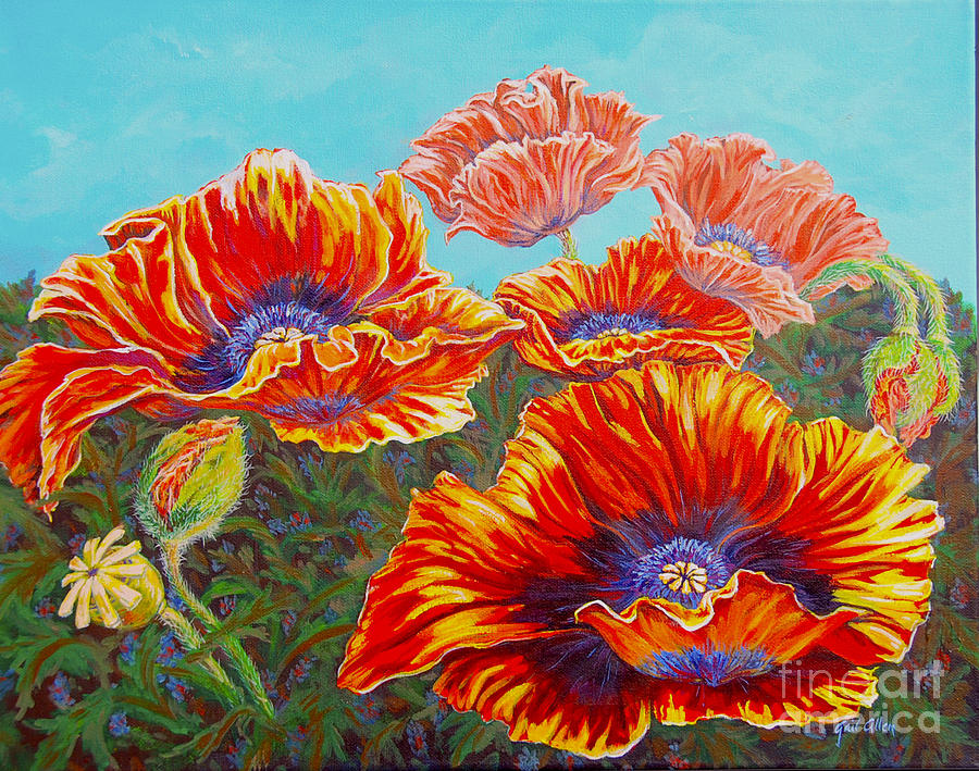 Poppies by Gail Allen
