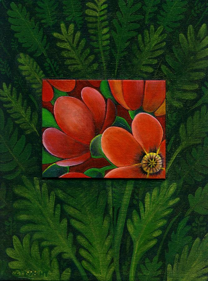 Poppy Painting - Poppies by Helena Tiainen
