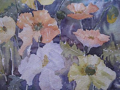 Poppies Painting - Poppies II by Margaret Aalders