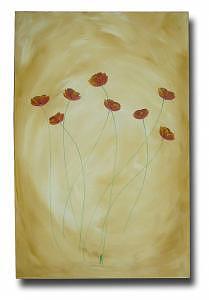 Poppies In Light Painting by Eridanus Sellen