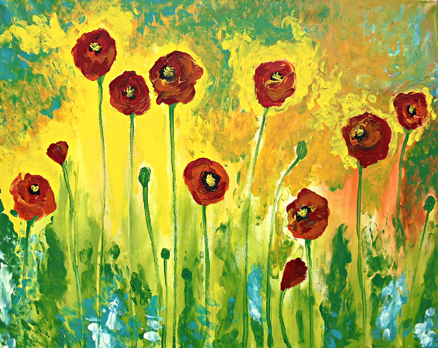 Poppies by Lisa Caringi