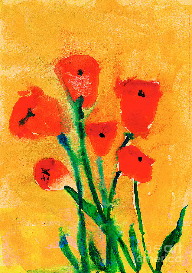 Poppies by Roxanne Hanson Age Seven