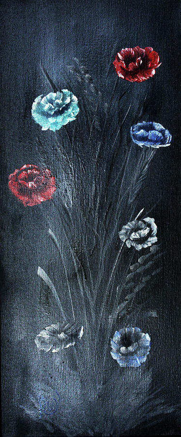 Poppies by Russell Collins