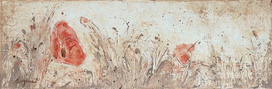 Poppy 1 Painting by Aneta  Berghane