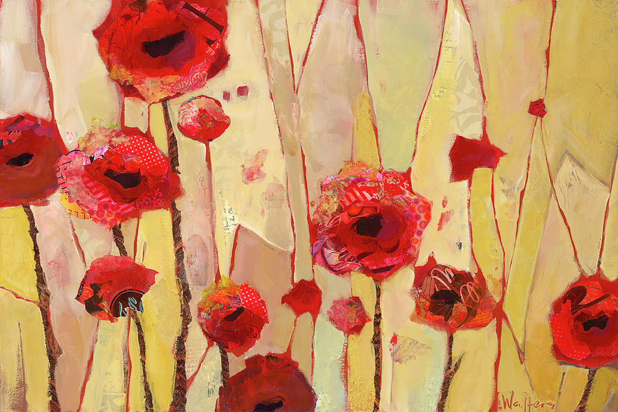 Poppies Painting - Poppy Crush by Shelli Walters