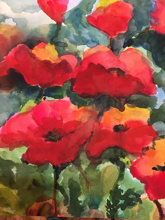 Poppy Punch by Judith Scull