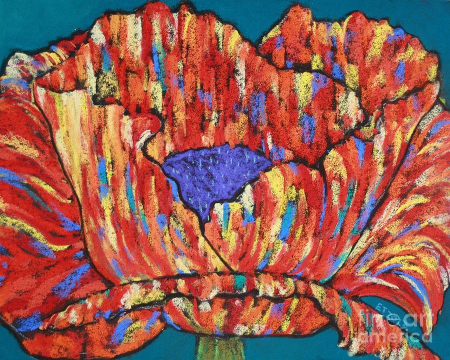 Poppy Painting - Poppy2 by Melinda Etzold