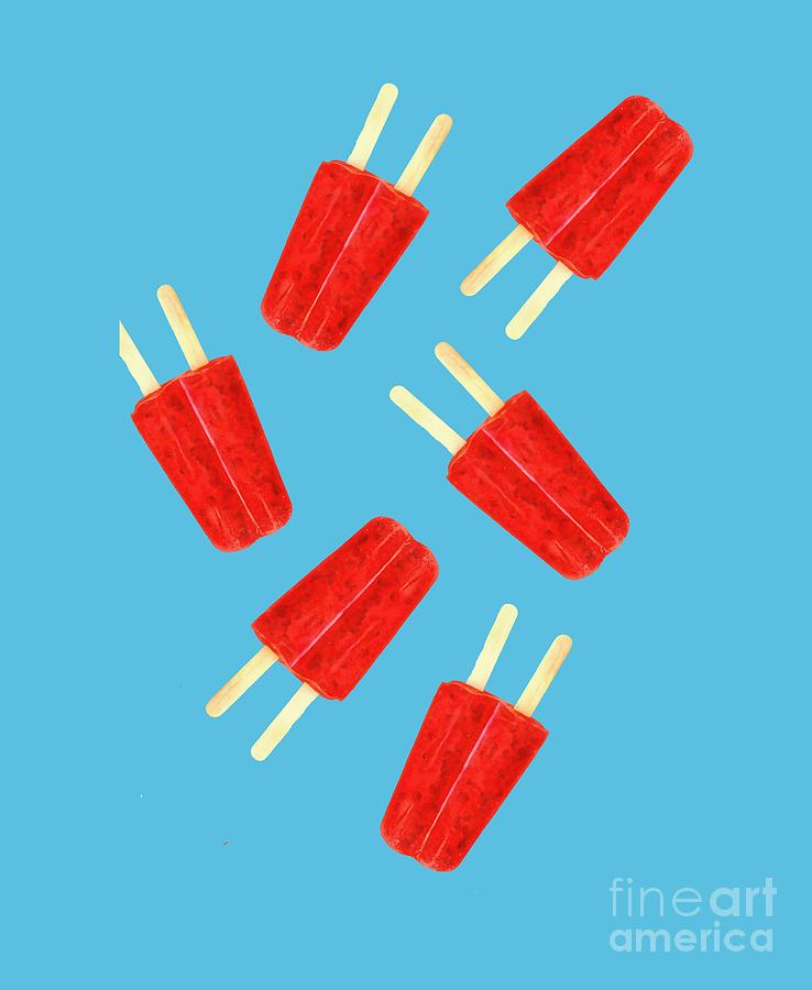 Popsicle Photograph - Popsicle T-shirt by Edward Fielding