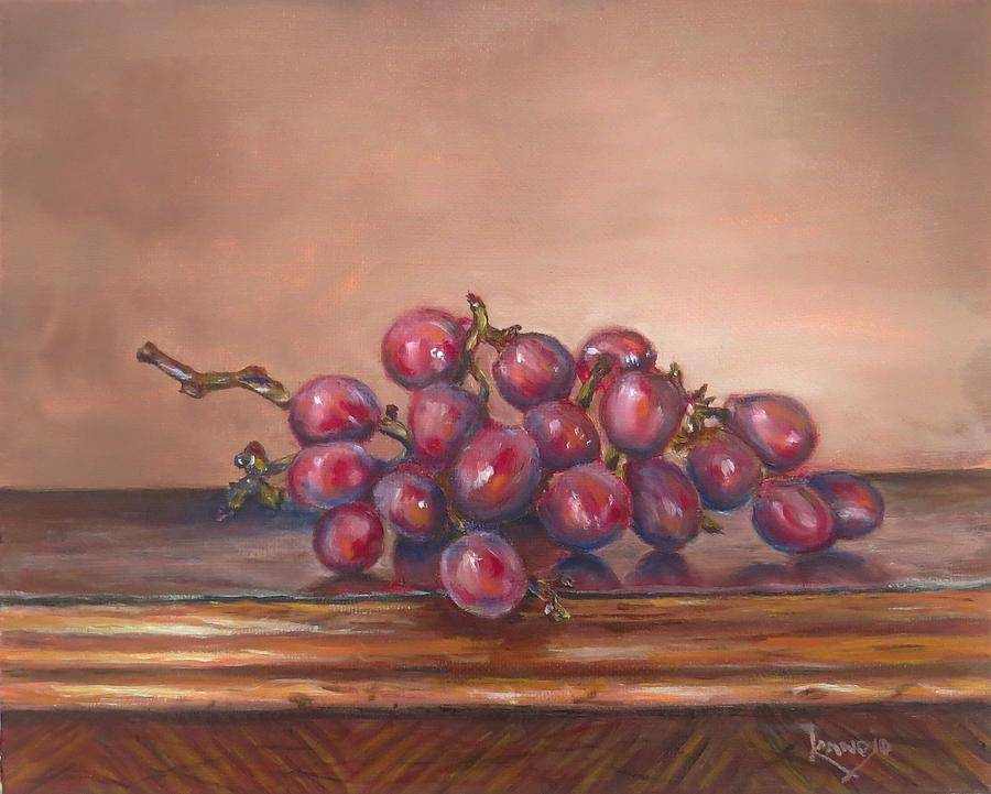 Contemporary Still Life Painting - Popsies Table by Wendy Winbeckler Kanojo