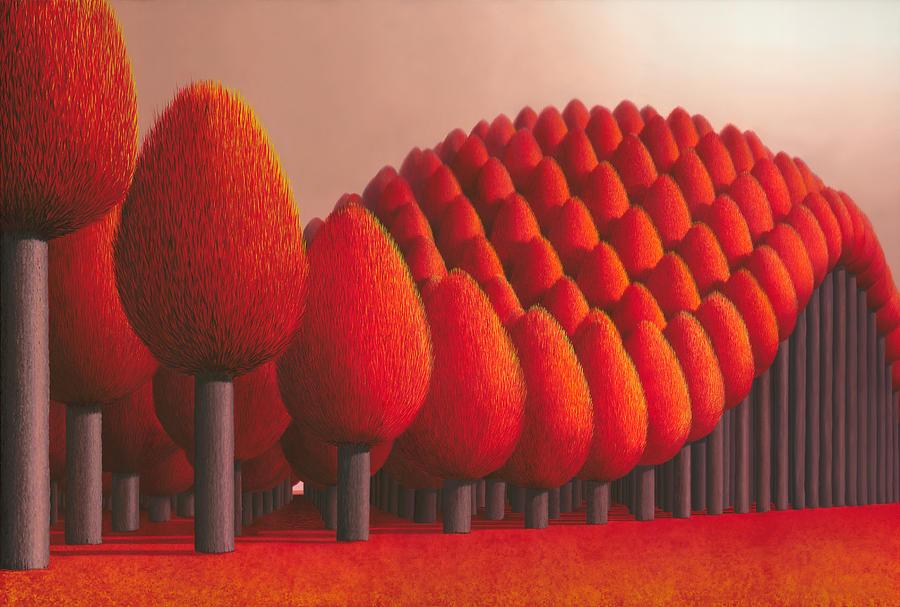 Populus Flucta Painting