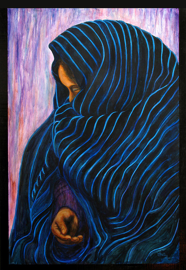 Mexican Painting - Por Favor  by Pat Haley