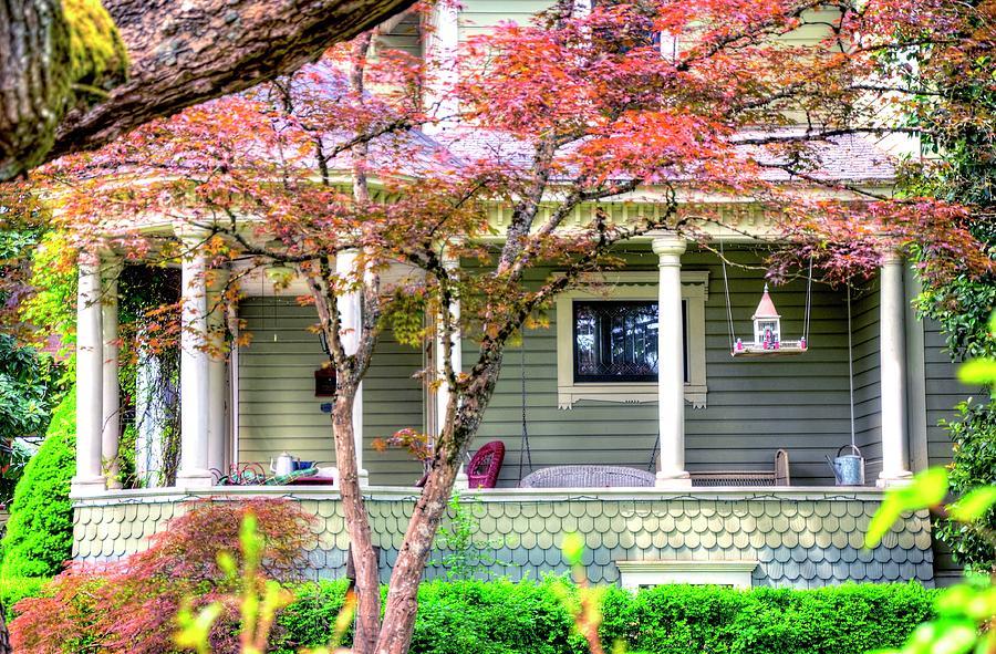 Porch Birdhouse Photograph