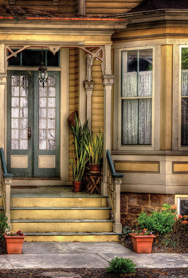 Savad Photograph - Porch - House 109 by Mike Savad