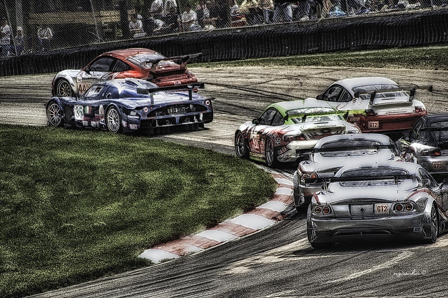Mid Ohio Raceway >> Porsche Maserati Mid Ohio H D R By Michael Rankin