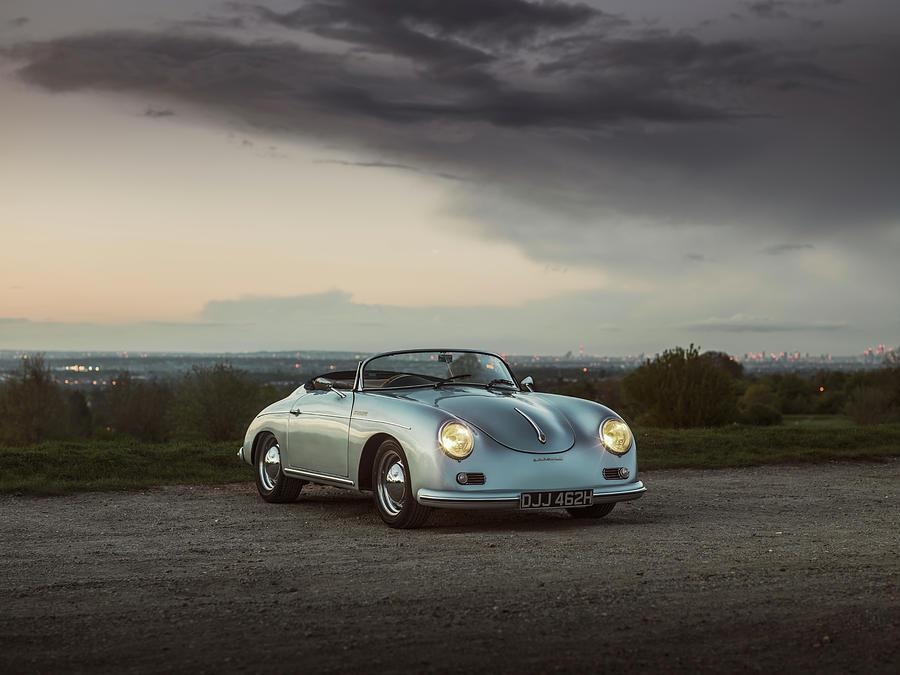 Porsche 356 Speedster Photograph - Porsche 356 Speedster by George Williams