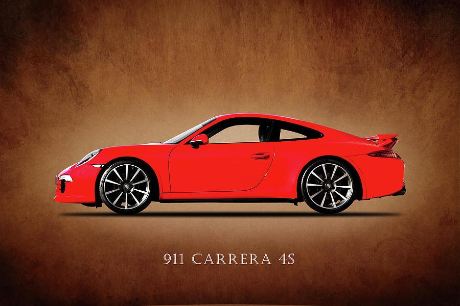 Porsche 911 Carrera 4s Photograph - Porsche 911 Carrera 4s by Mark Rogan