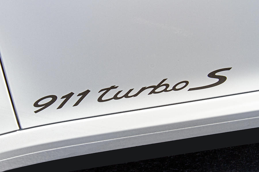 Porsche 911 Turbo S Logo Photograph by Nick Gray