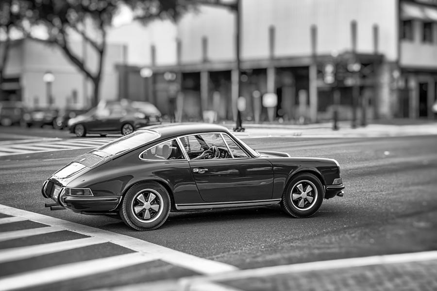 Auto Photograph - Porsche 911e by Howard Salmon