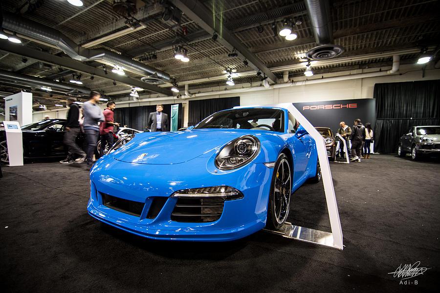 Cars Photograph - Porsche by Adnan Bhatti