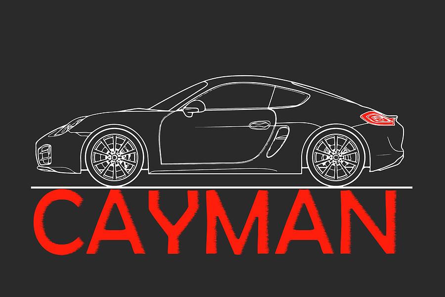 Porsche Cayman Photograph - Porsche Cayman Phone Case by Mark Rogan