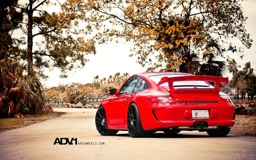 Porsche Gt3 Centerlock Adv1 3  Digital Art by Mery Moon