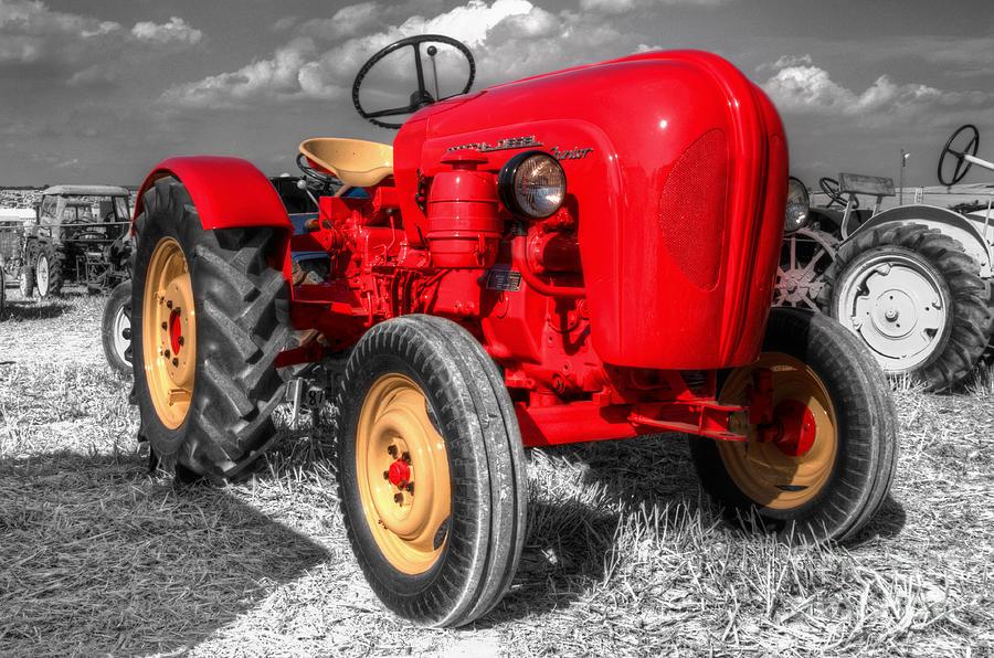 Porsche Photograph - Porsche Tractor by Rob Hawkins