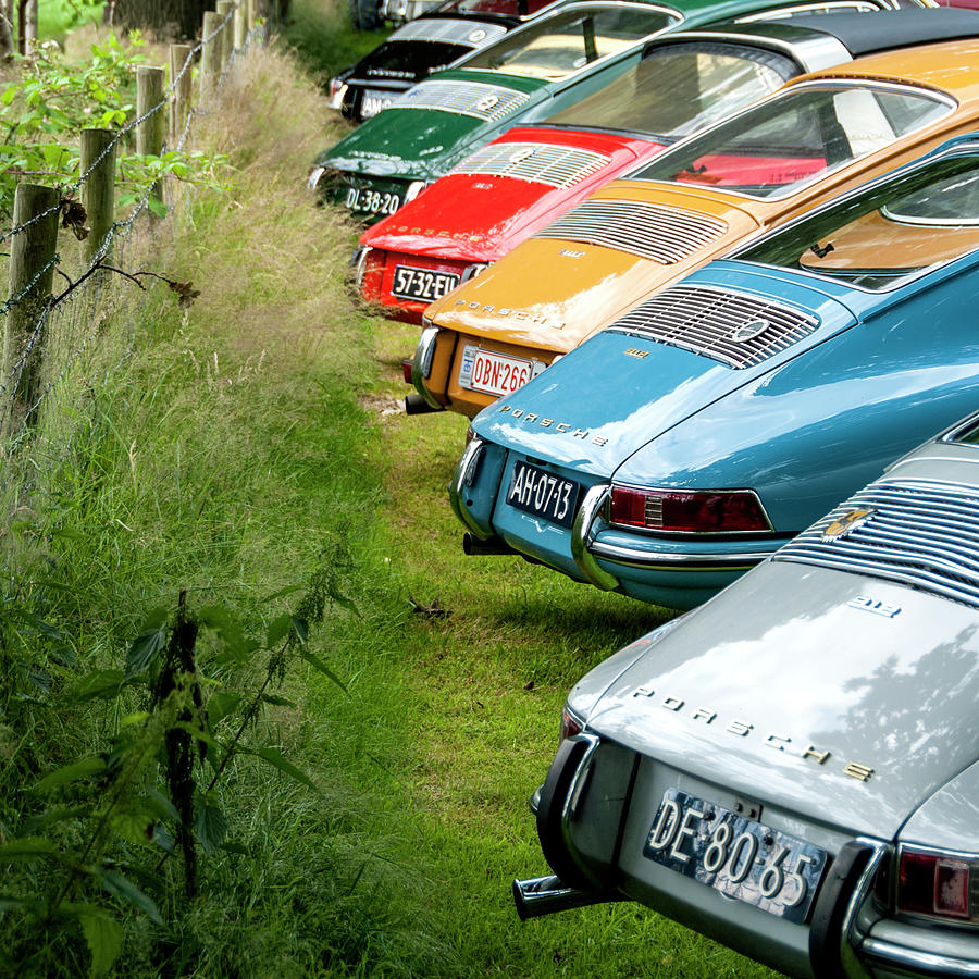 Porsches 912 asses by 2bhappy4ever
