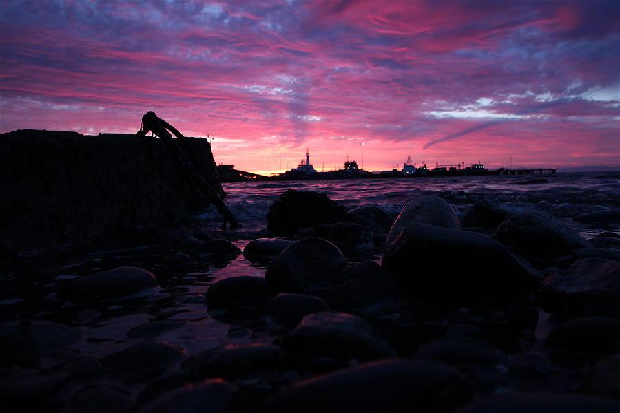 Travel Photograph - Port Angeles Harbor Eleven by Nicholas Miller