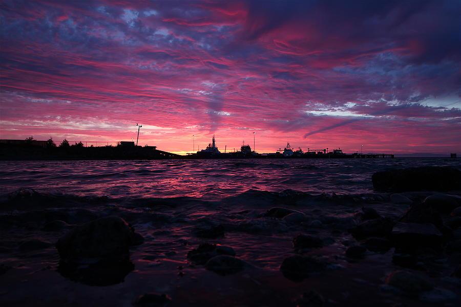 Travel Photograph - Port Angeles Harbor Twelve by Nicholas Miller