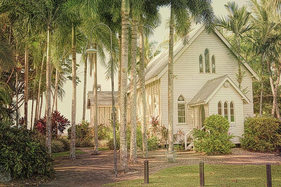 Beach Photograph - Port Douglas Beach Chapel by Chris Hood