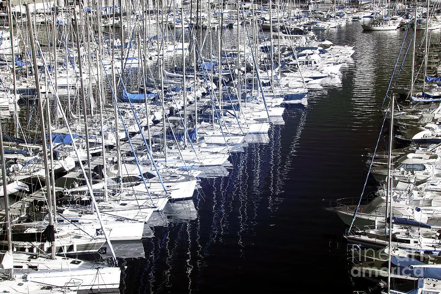 Port Parking Photograph - Port Parking by John Rizzuto