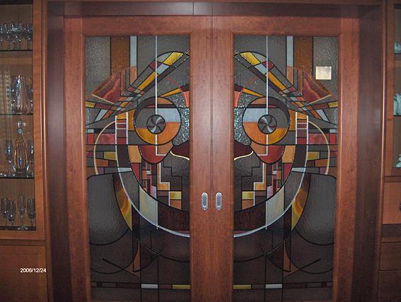 Paintings Glass Art - Porta Di Acesso Al Salotto by Morena Di Pressa