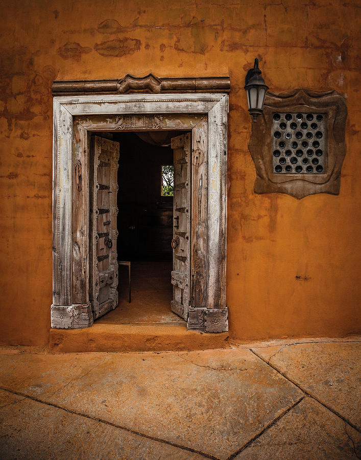 Door Photograph - Portal by Carl Chick