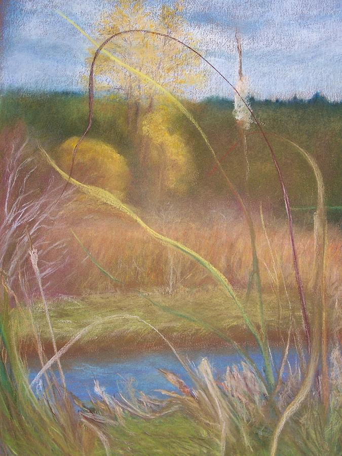 Wetlands Pastel - Portal by Jackie Bush-Turner