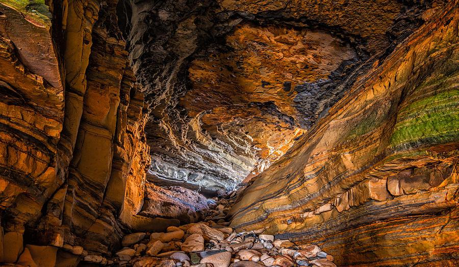 Cave Photograph - Portal by Joseph Smith