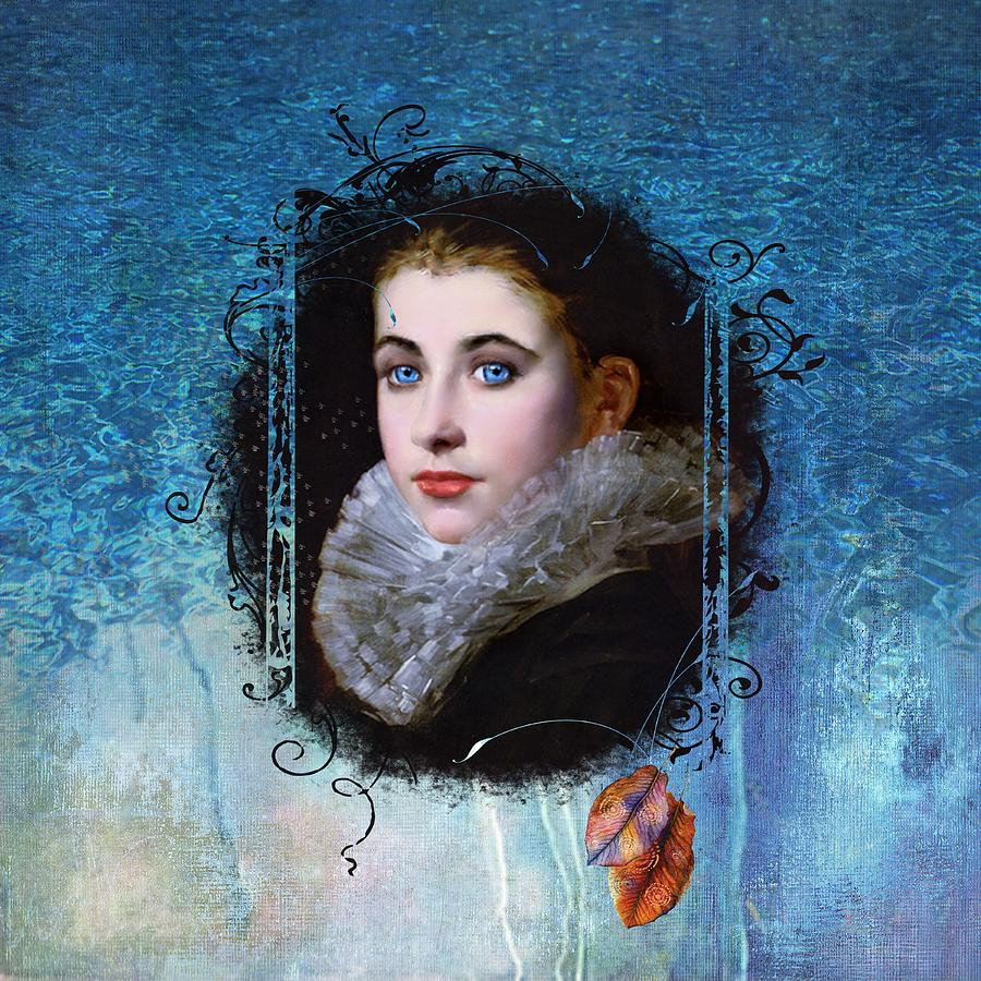 Historical Painting - Portal Portrait by Laura Botsford