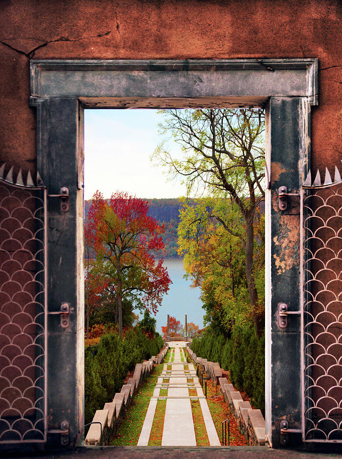 Autumn Photograph - Portal To Autumn by Jessica Jenney