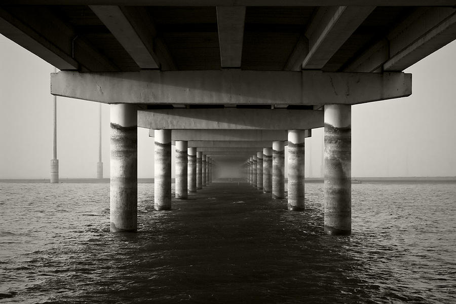 Bridge Photograph - Portal To Nothingness by Mike McMurray